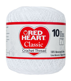 Red Heart® Classic Crochet Thread Size 10