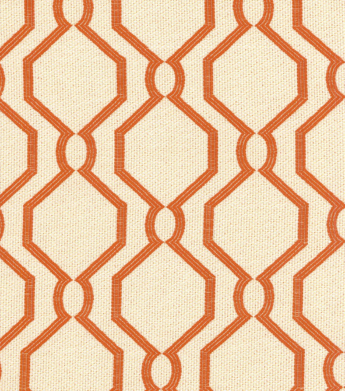 "P/K Lifestyles Upholstery Fabric 54""-Laneway/Persimmon"