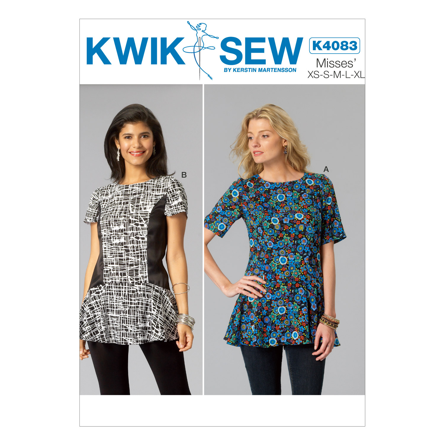 Kwik Sew Misses Top-K4083