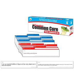 Complete Common Core State Standards Kit- Grade 4