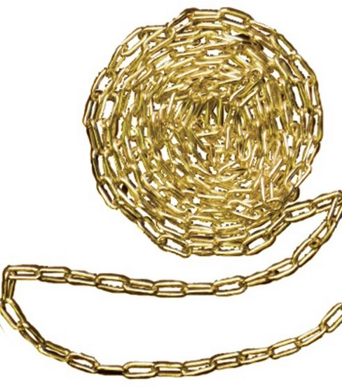 Cousin Gold Elegance 18\u0022 Chain-1PK/14K Gold Plated