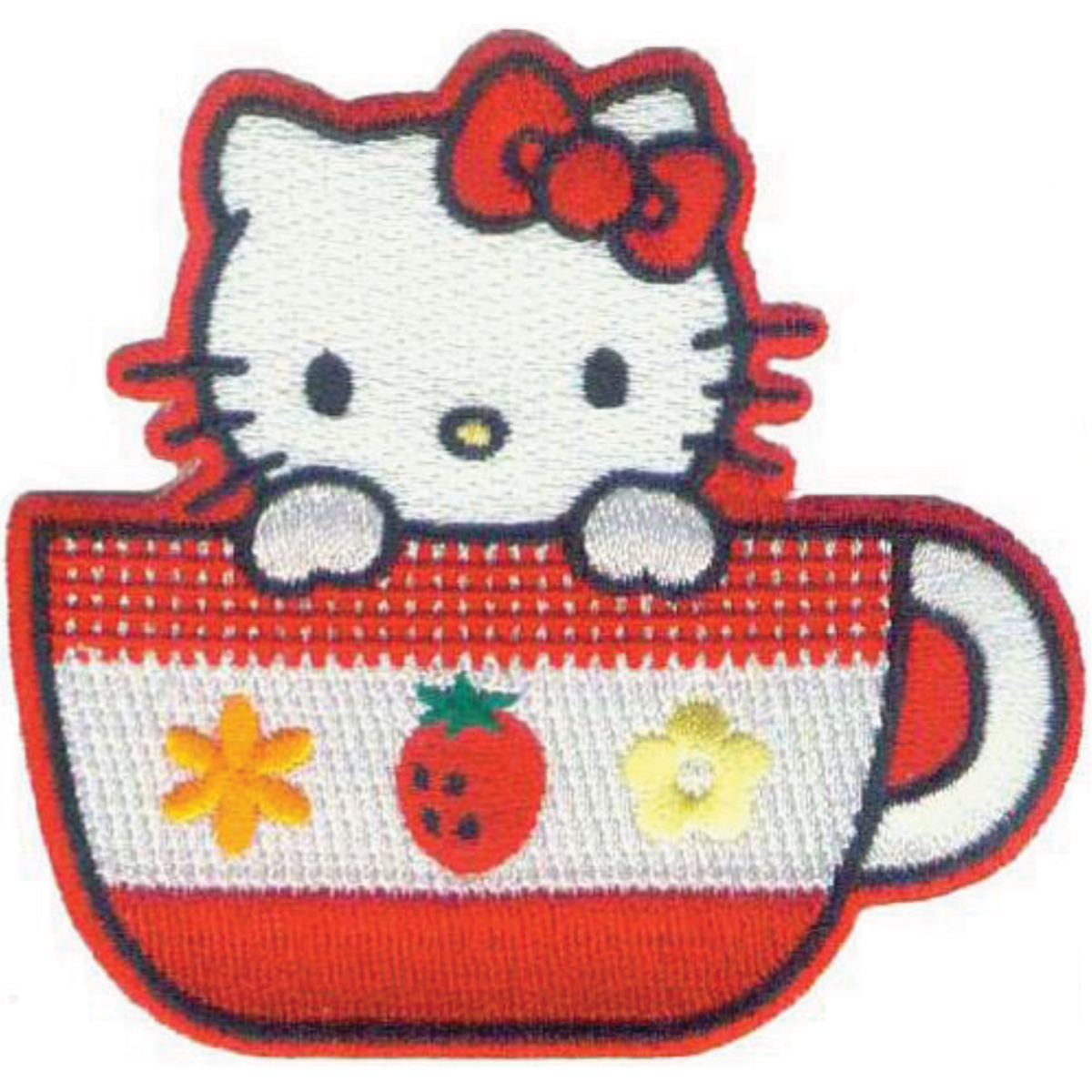 C, Visionary Hello Kitty Patches Tea Cup
