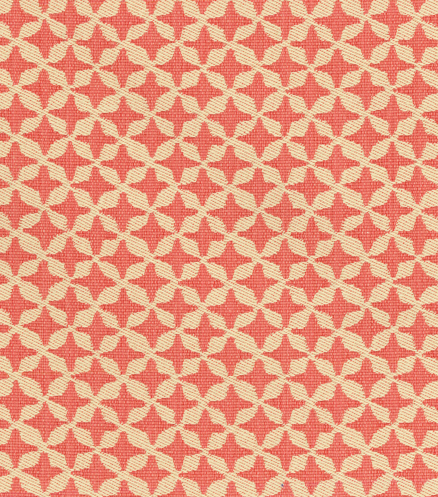 "Waverly Upholstery Fabric 56""-Surat Stamp/Coral"