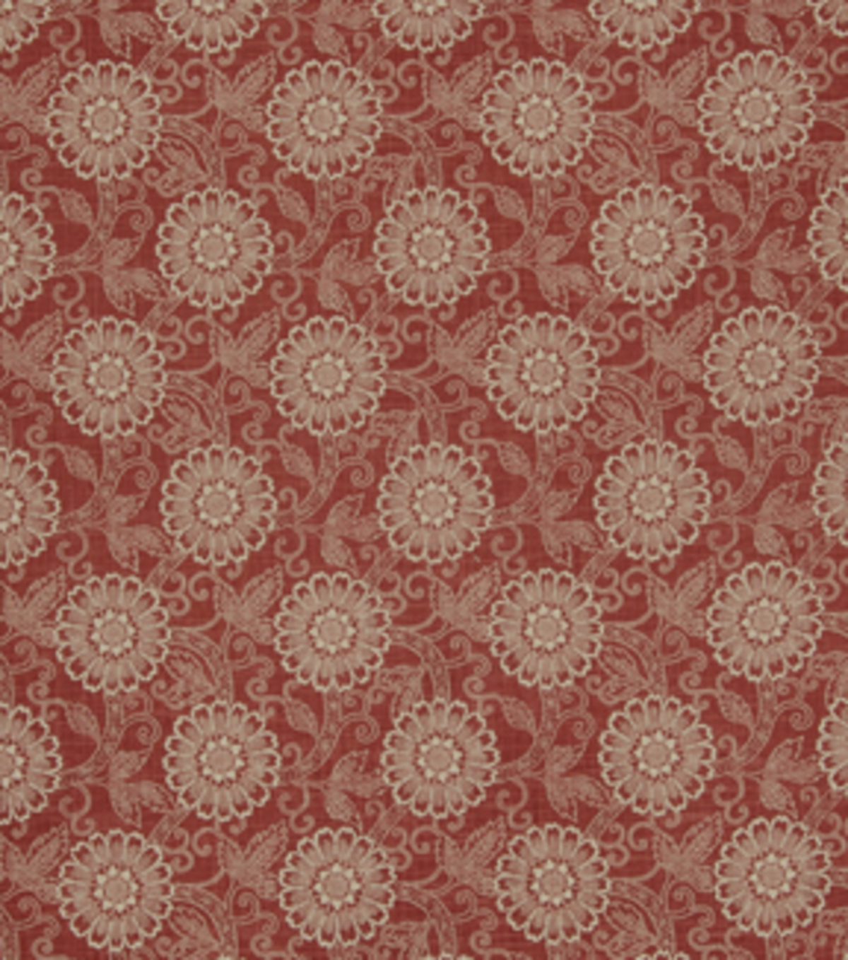 "Home Decor 8""x8"" Fabric Swatch-French General Locker Rouge"
