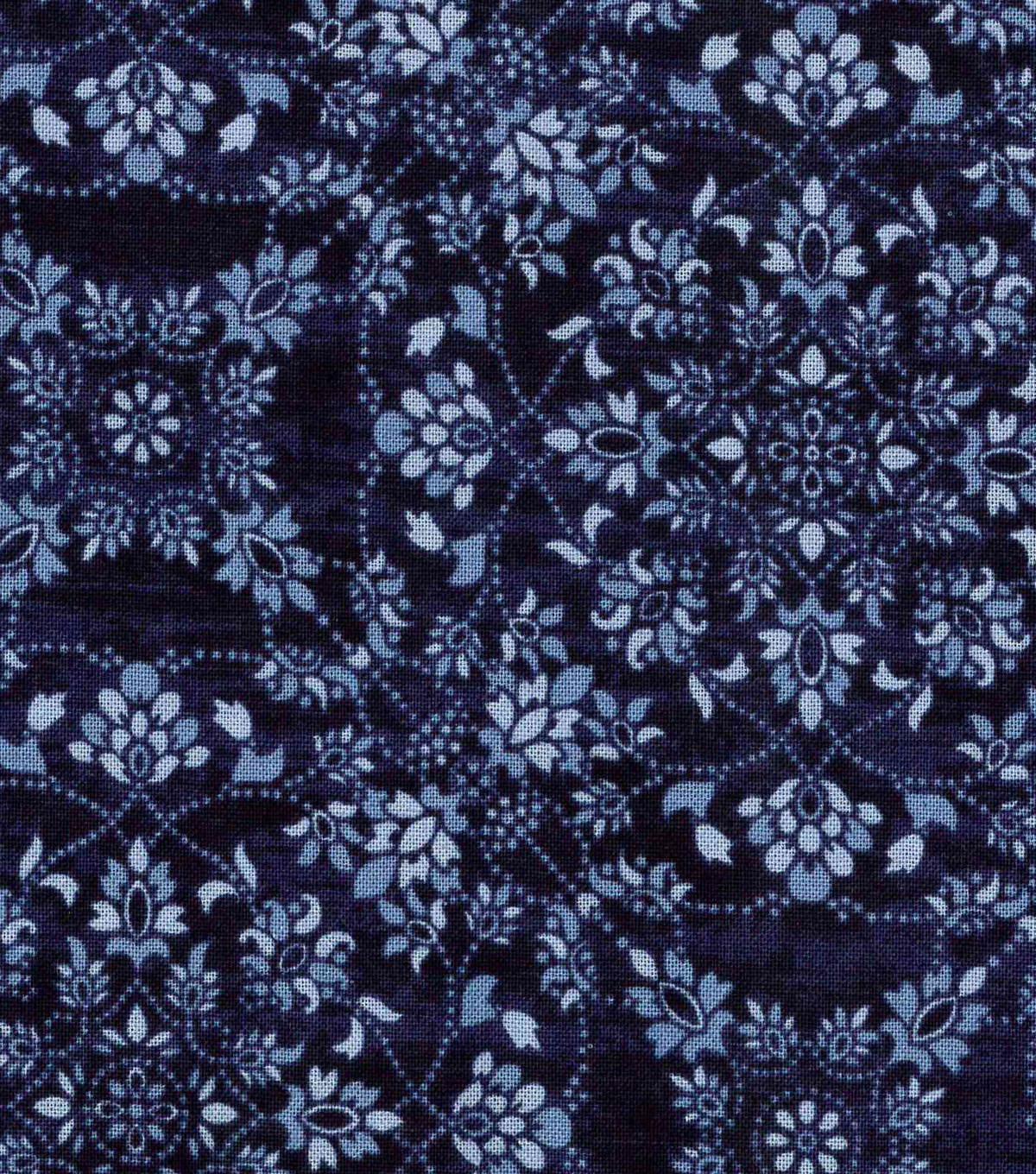 Modern Cotton Fabric 43\u0022-Floral Medallions