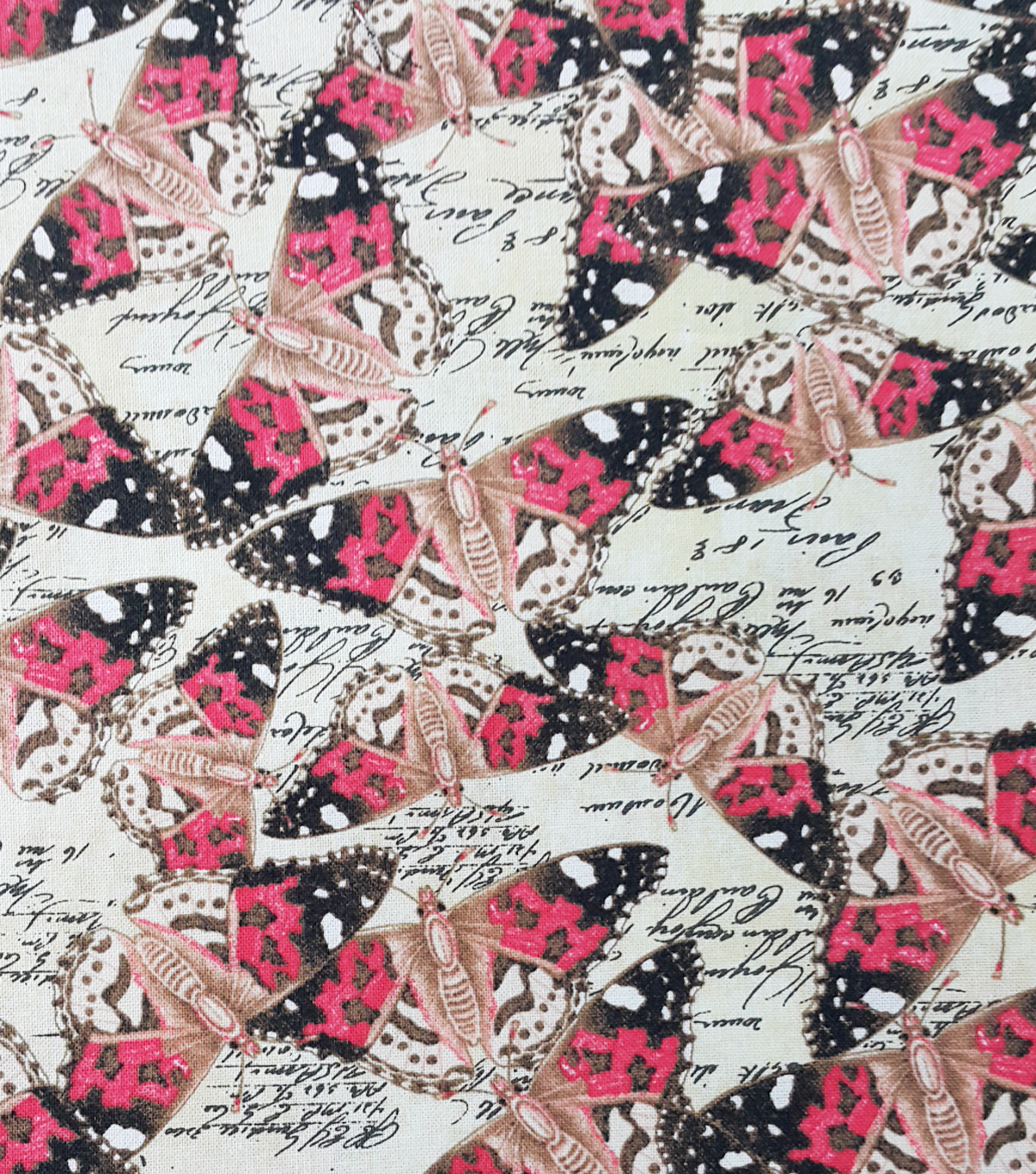 Two Daughters™ Cotton Fabric-Butterflies
