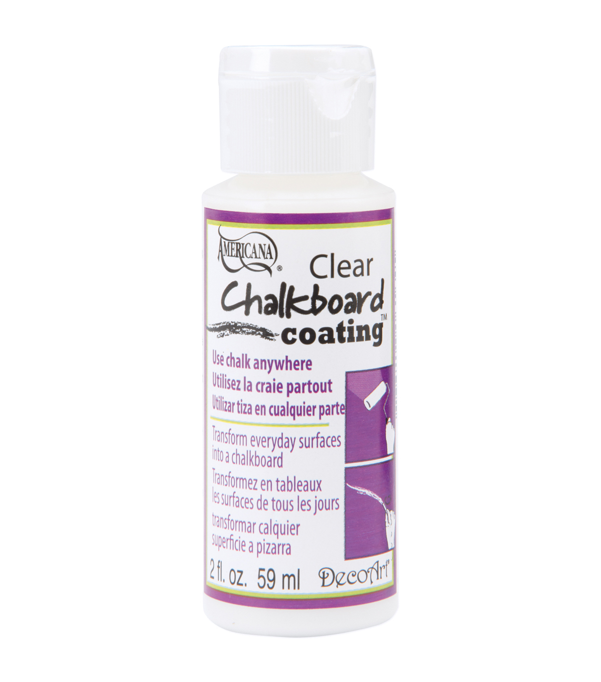 DecoArt Americana Chalkboard Clear Coating-2oz
