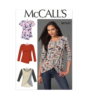 McCall's Misses Top-M7247
