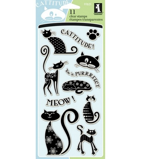 Inkadinkado Clear Stamps-Cats