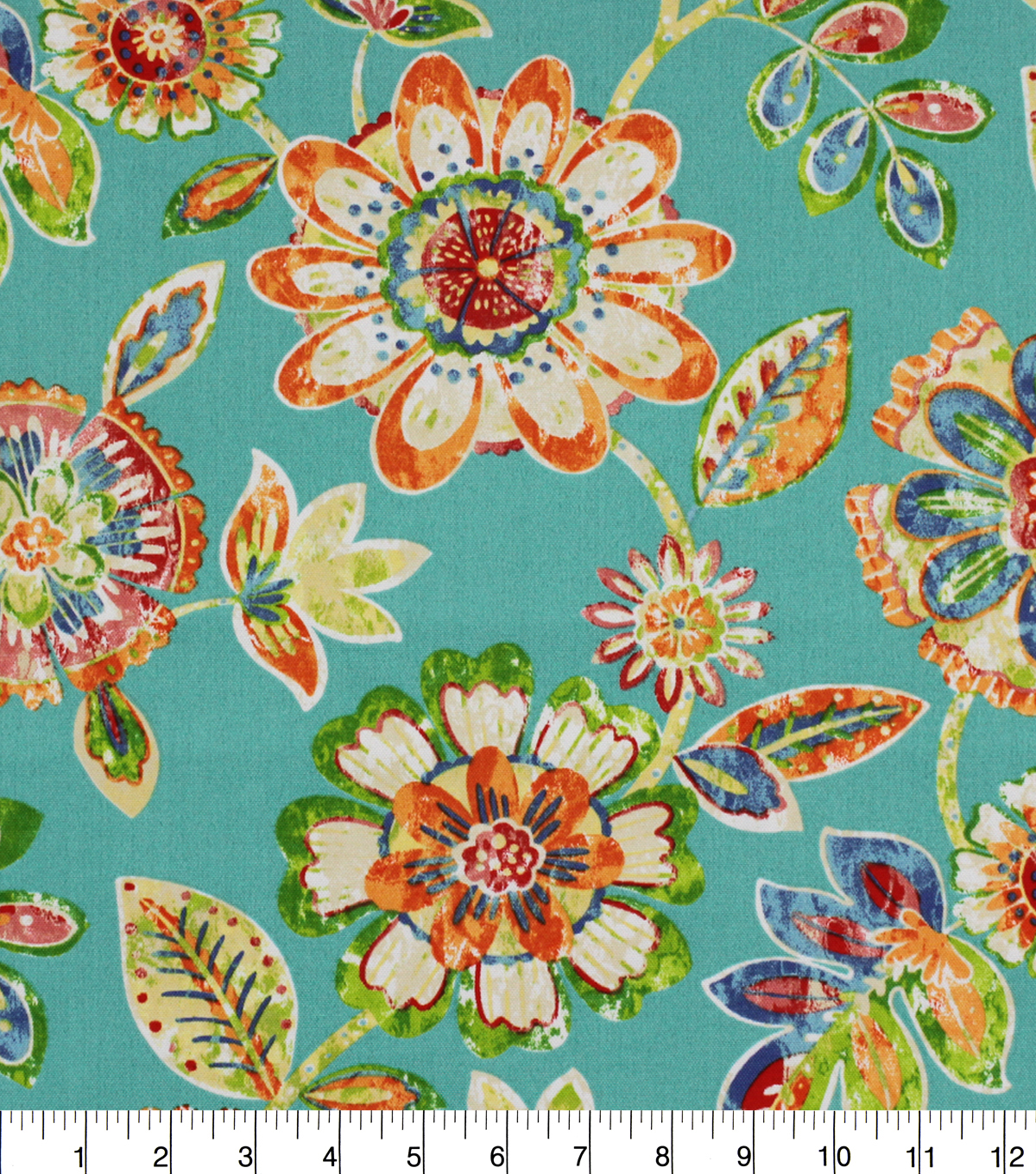 Solarium Outdoor Print Fabric 54\u0027\u0027-Blue Jessica