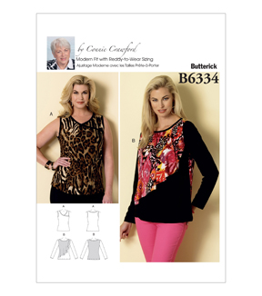 Butterick Women's Top-B6334