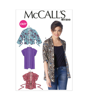 McCall's Misses Jacket-M7200
