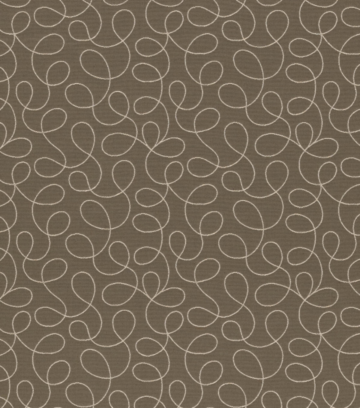"Home Decor 8""x8"" Fabric Swatch-Loopy Gray"