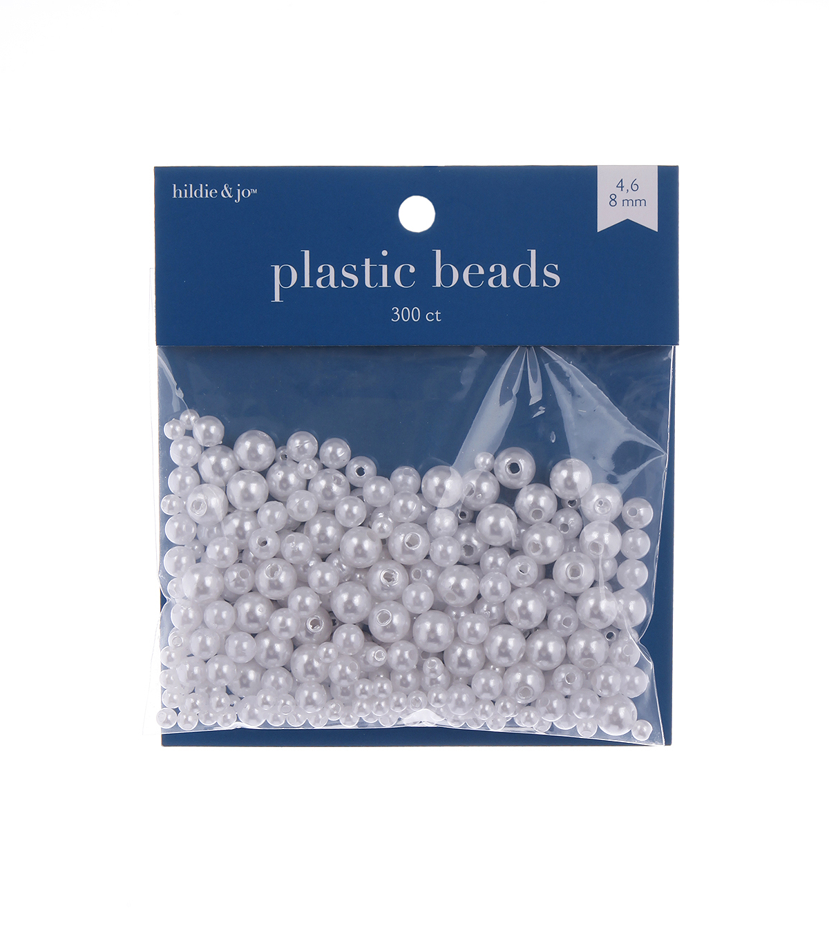 Darice Craft Designer Assorted Pearls-36gr/White