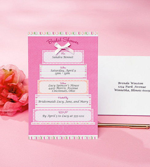Wilton® 12ct Bridal Shower Cake Invitation Kit