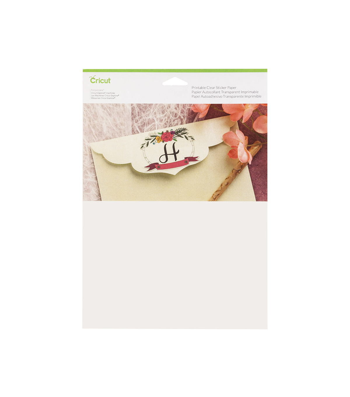Cricut® 5 Pack 8.5''x11'' Acetate Sheets-Clear