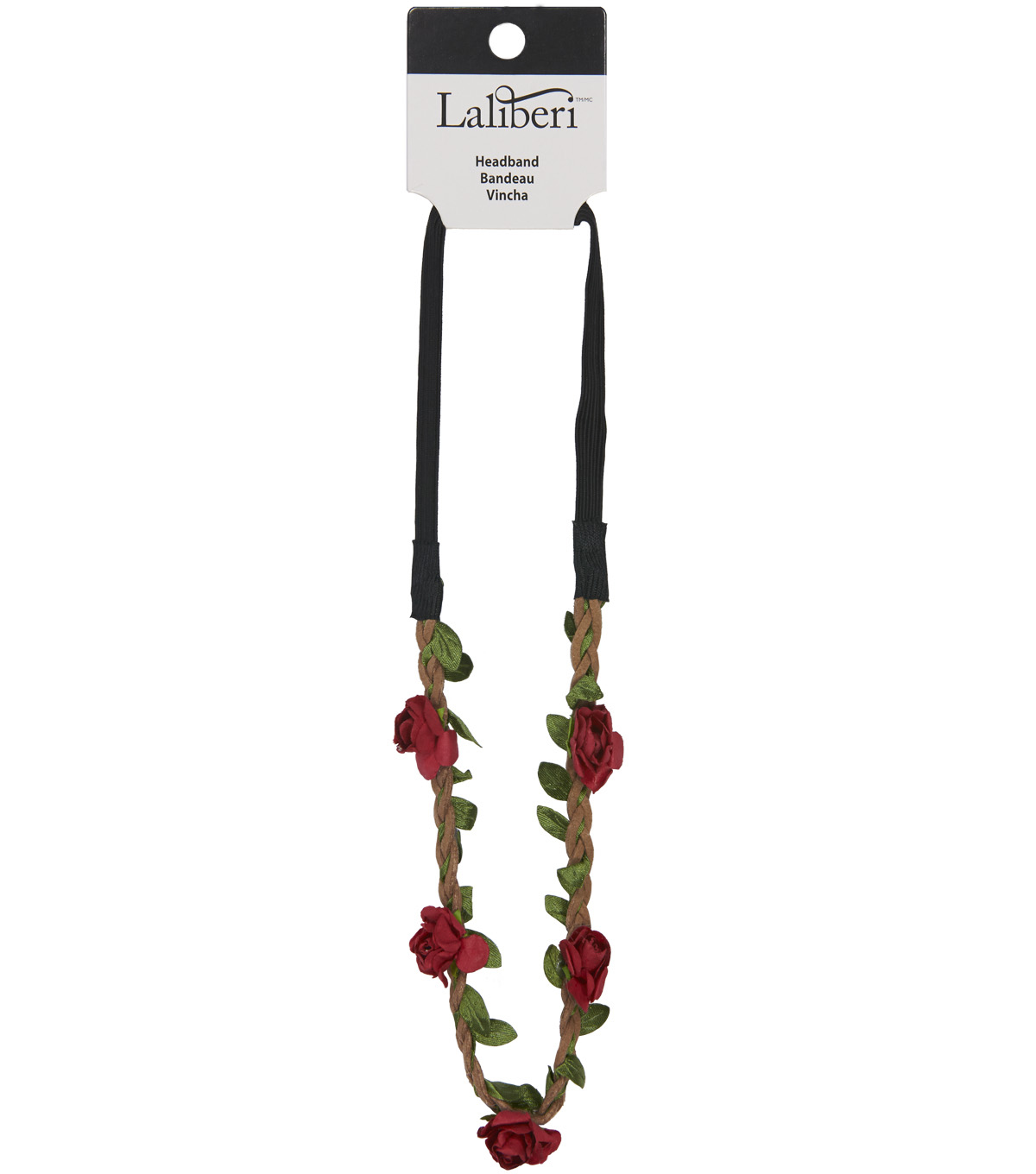 Laliberi Headband-Red Floral