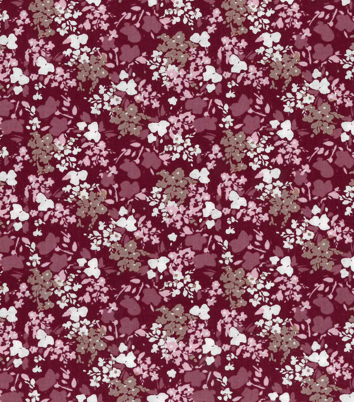 "Buttercream™ Elizabeth Cotton Fabric 43""-Ditsy Abstract Floral"