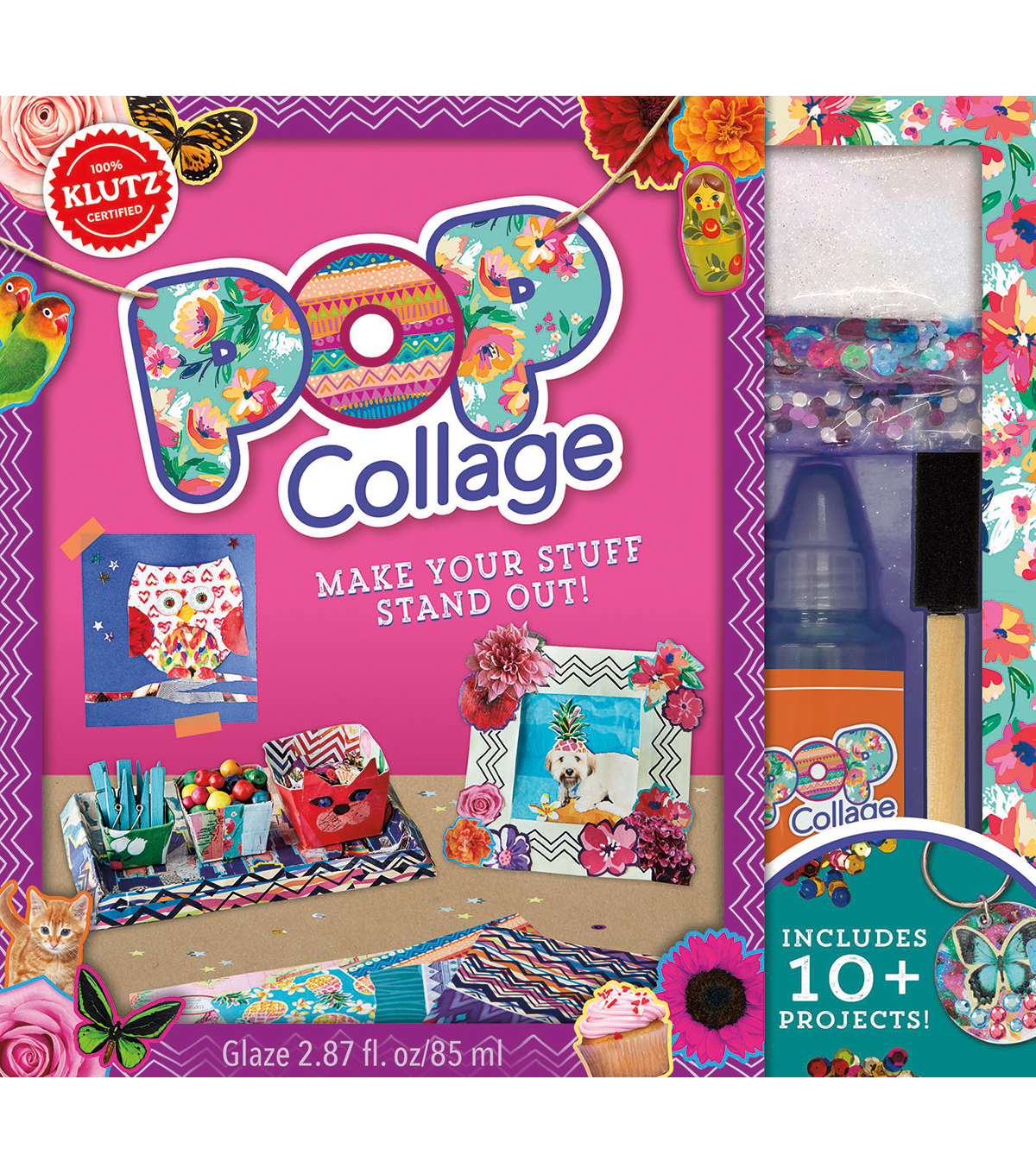 Klutz® Pop Collage Book Kit