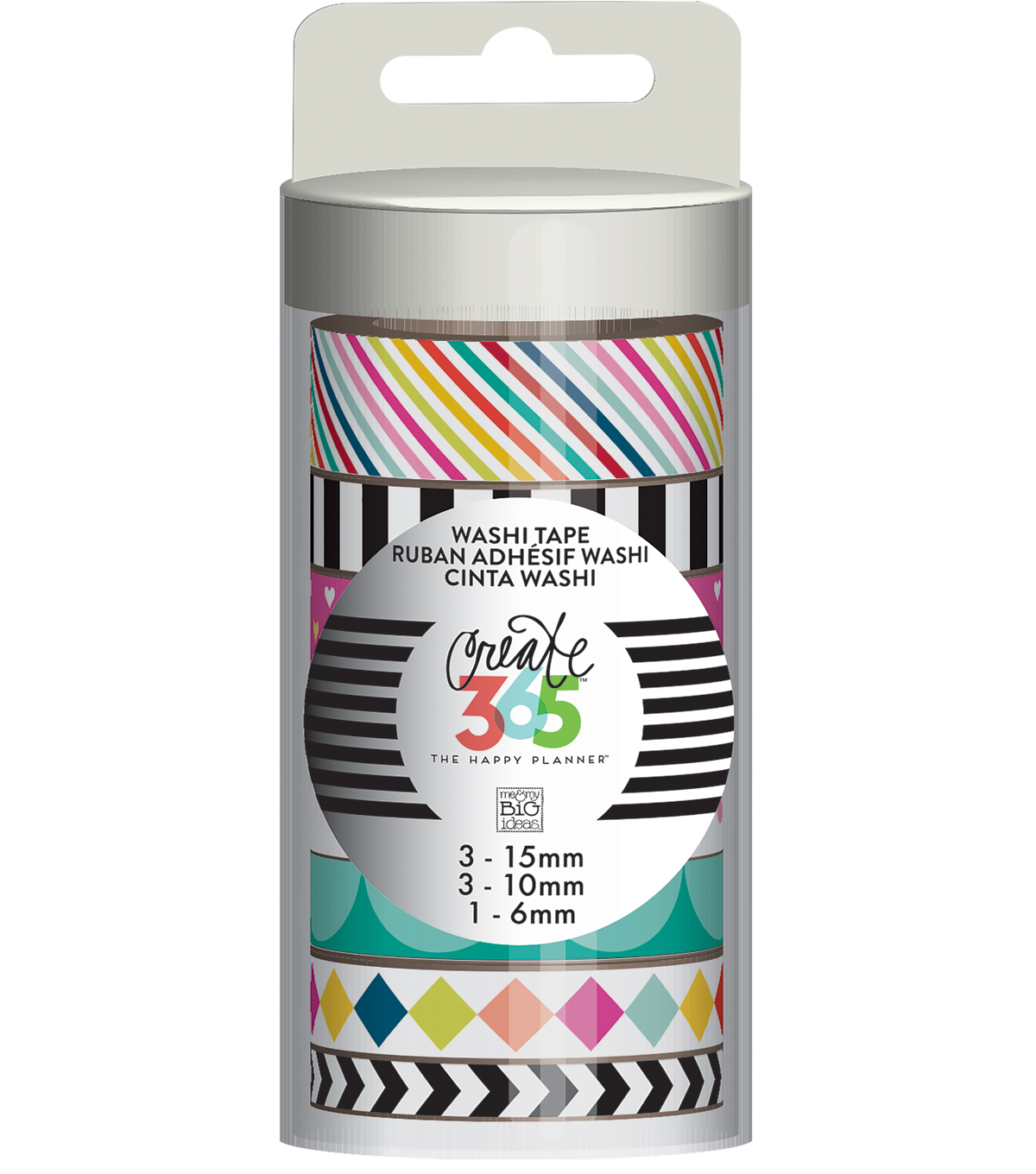 Create 365 The Happy Planner™ Washi-Brights