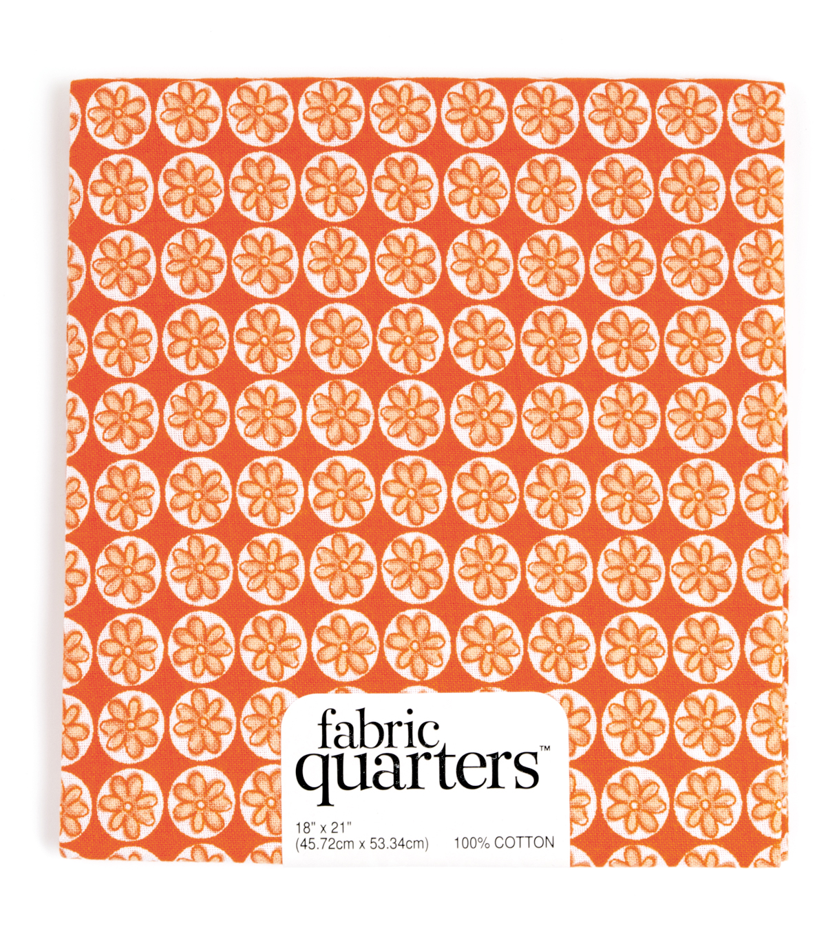 Fabric Quarters Cotton Fabric 18\u0022-Assorted Orange