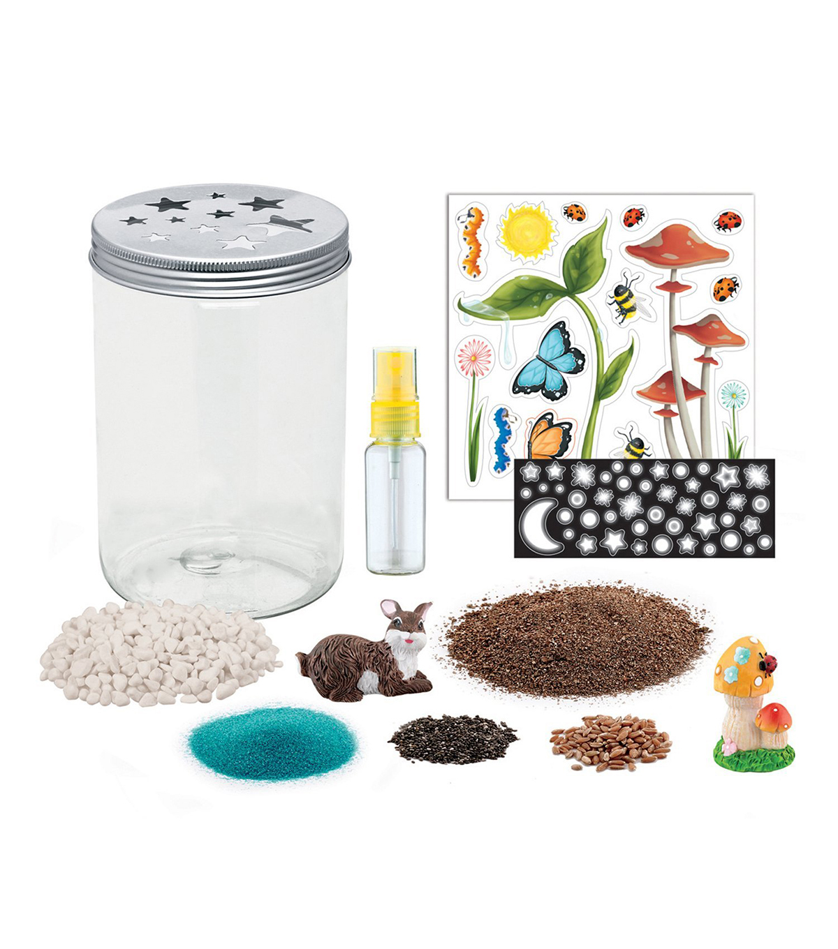 Creativity For Kids Grow \u0027N Glow Terrarium Kit