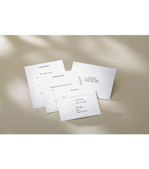Wilton® Pocket Invitation Kit String Of Pearl