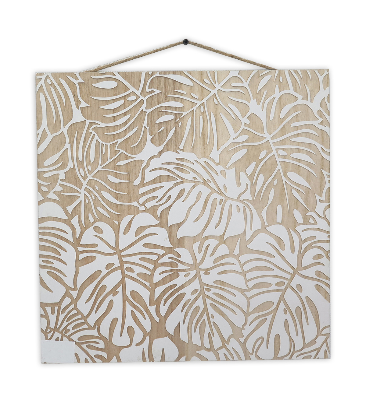 Summer Sol Wood Wall Decor-Leaf Print