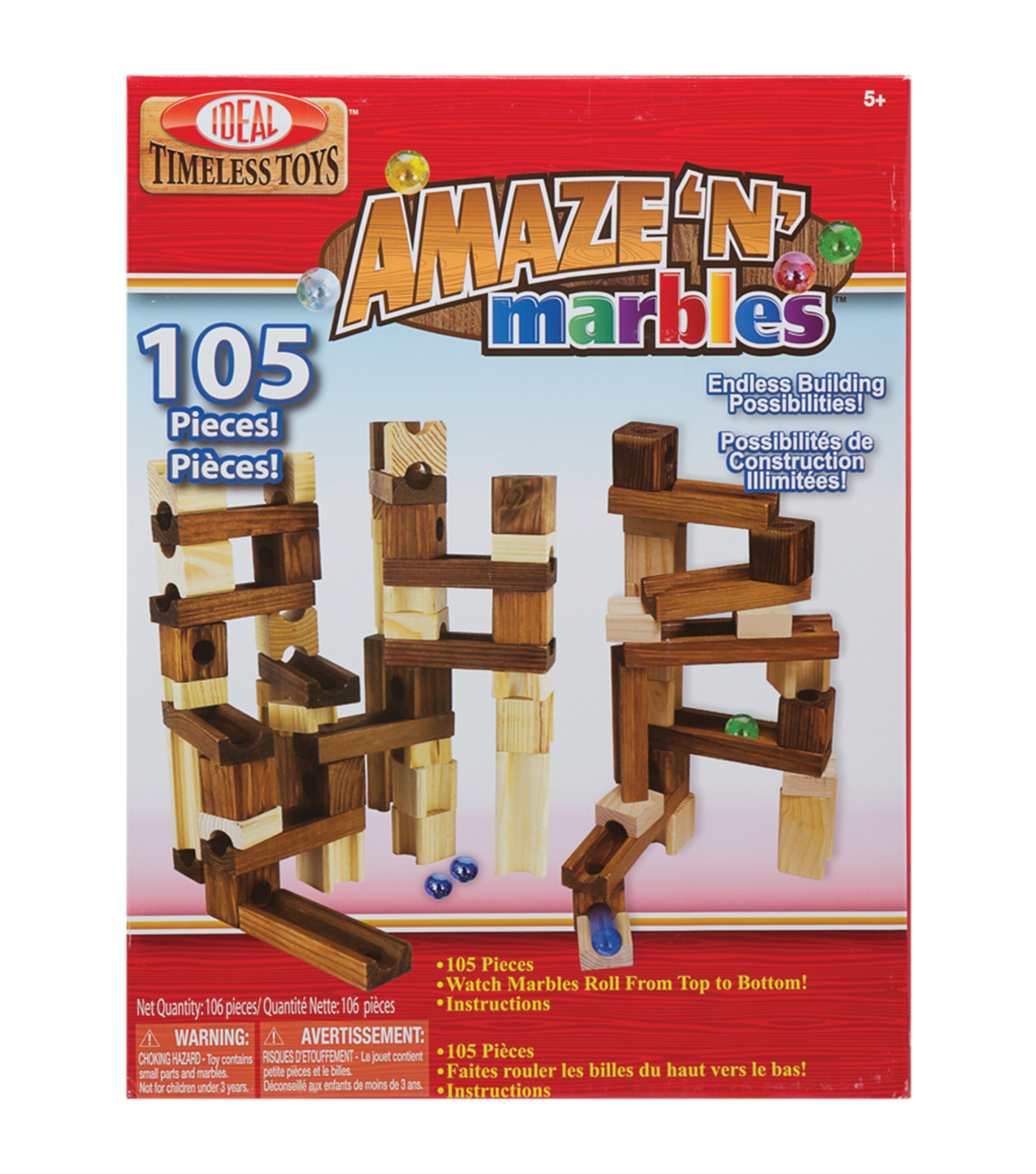Ideal Amaze N Marbles Building Kit