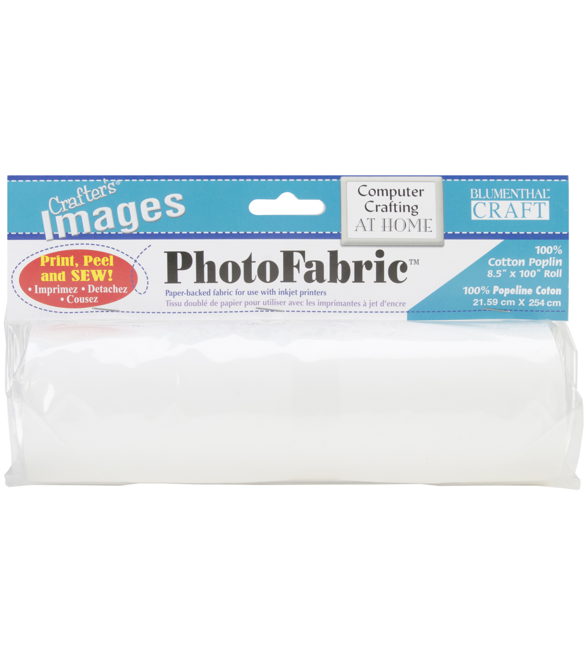 Crafter\u0027s Images PhotoFabric 100% Cotton Poplin Roll