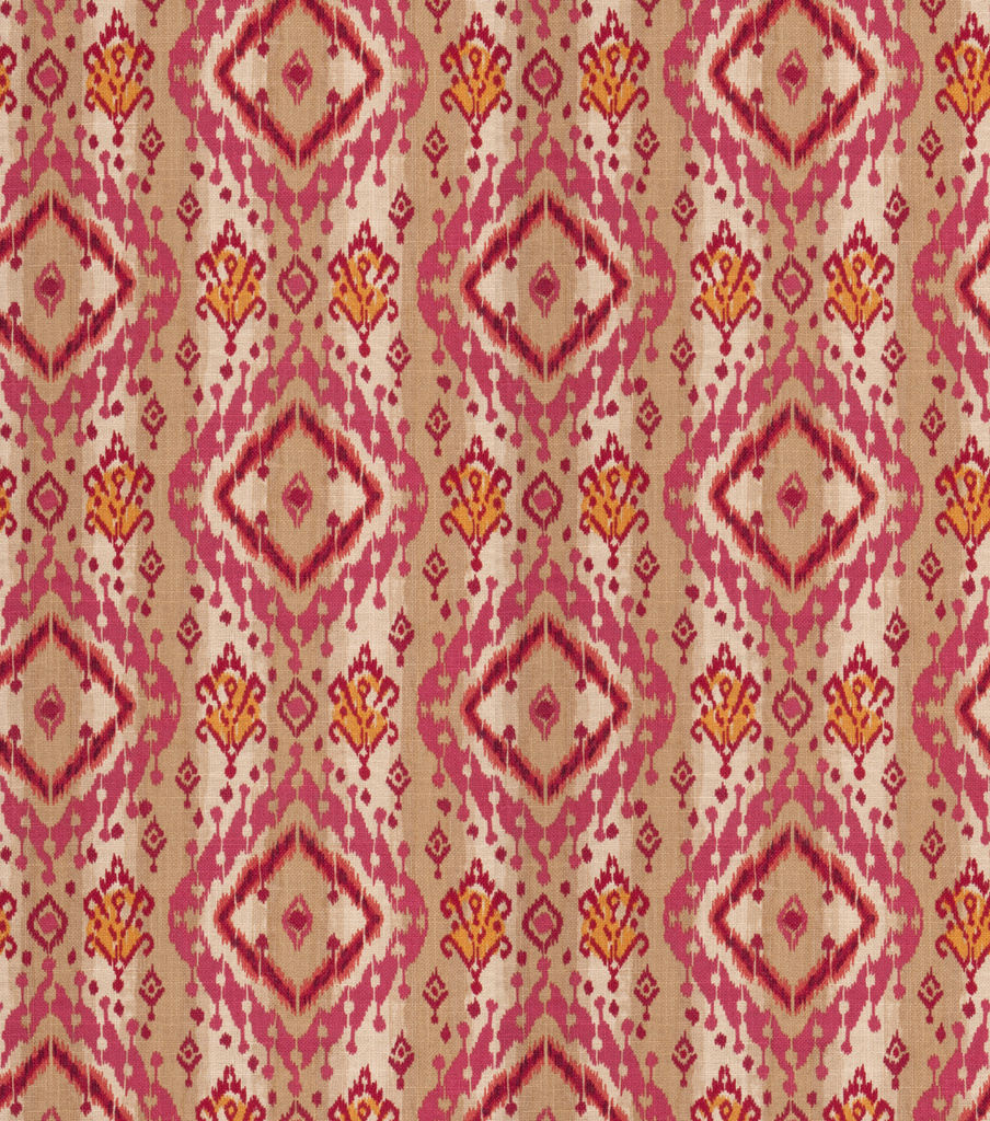 Ikat Paisley Mulberry Swatch