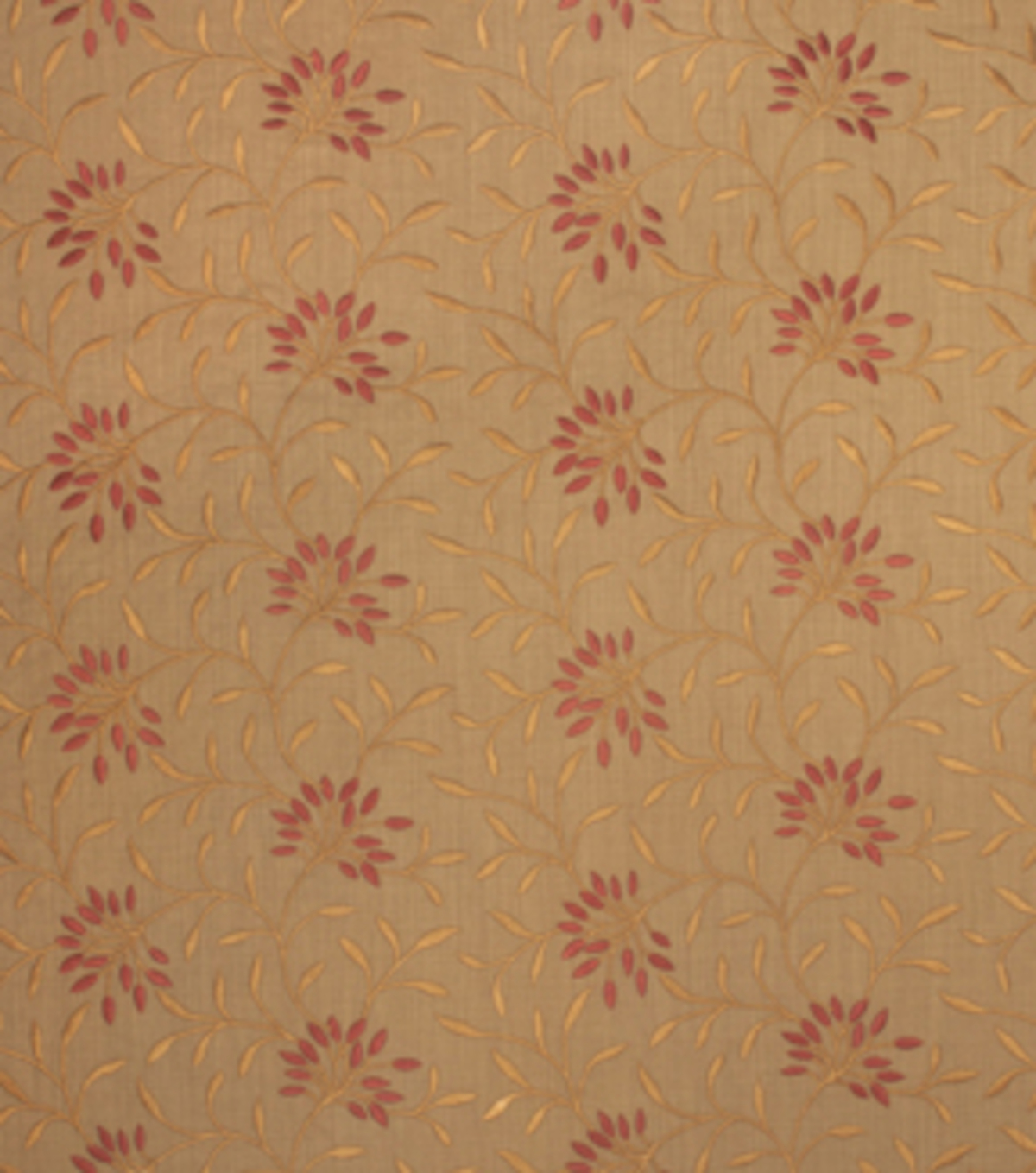 Home Decor 8\u0022x8\u0022 Fabric Swatch-Print Fabric Eaton Square Greenville Sienna