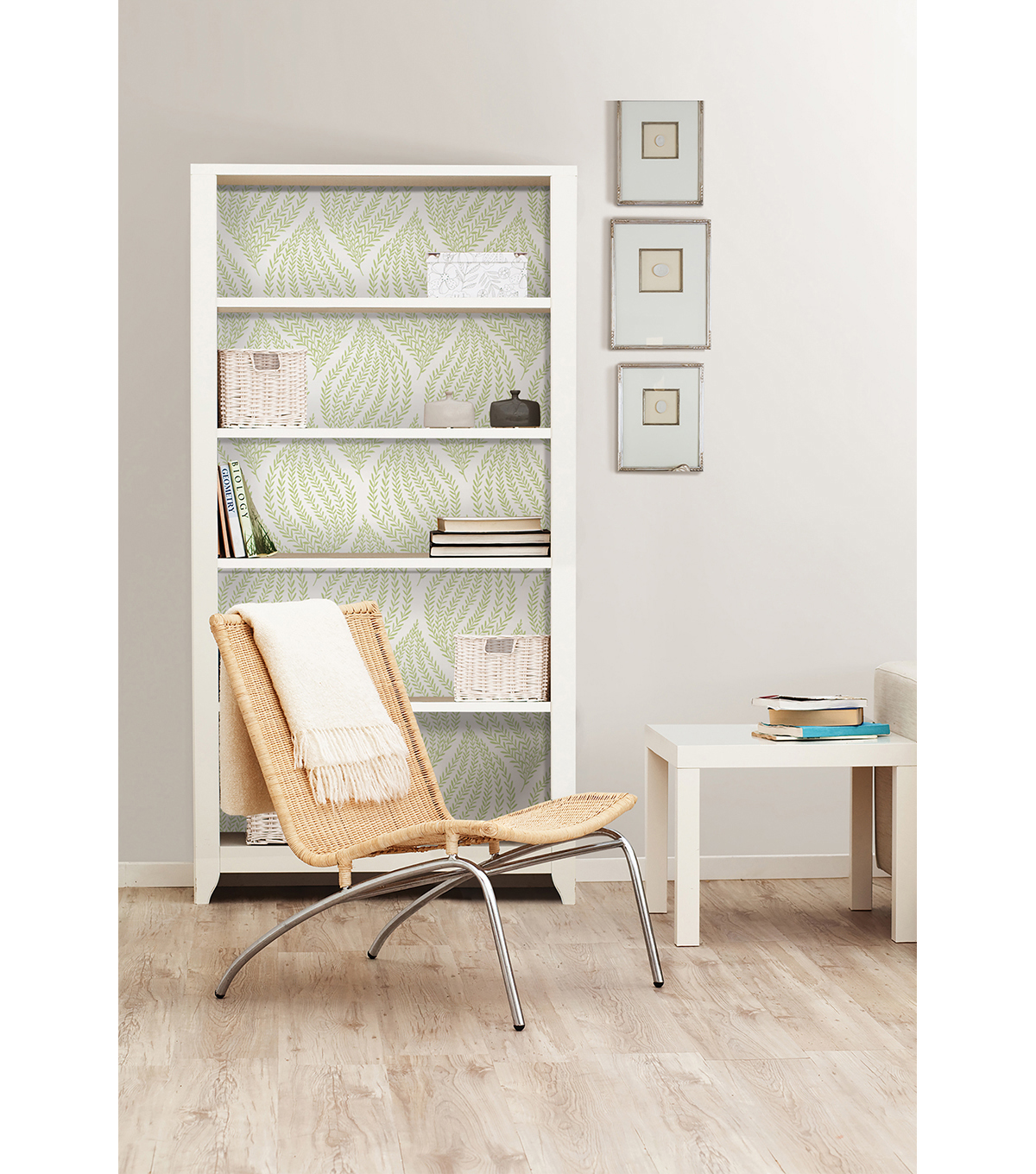 WallPops® NuWallpaper™ Green Fern  Peel  & Stick Wallpaper