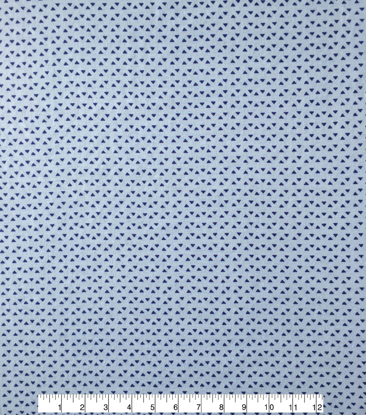Doodles® Juvenile Apparel Fabric 57\u0027\u0027-Blue Tiny Triangles