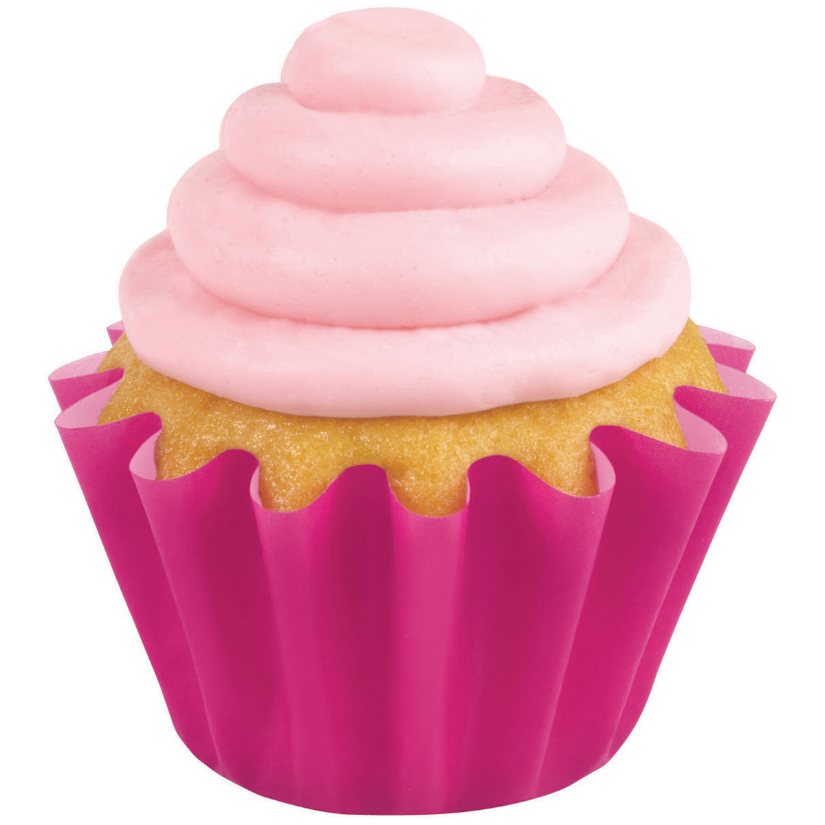 Pink Wave Standard Baking Cup