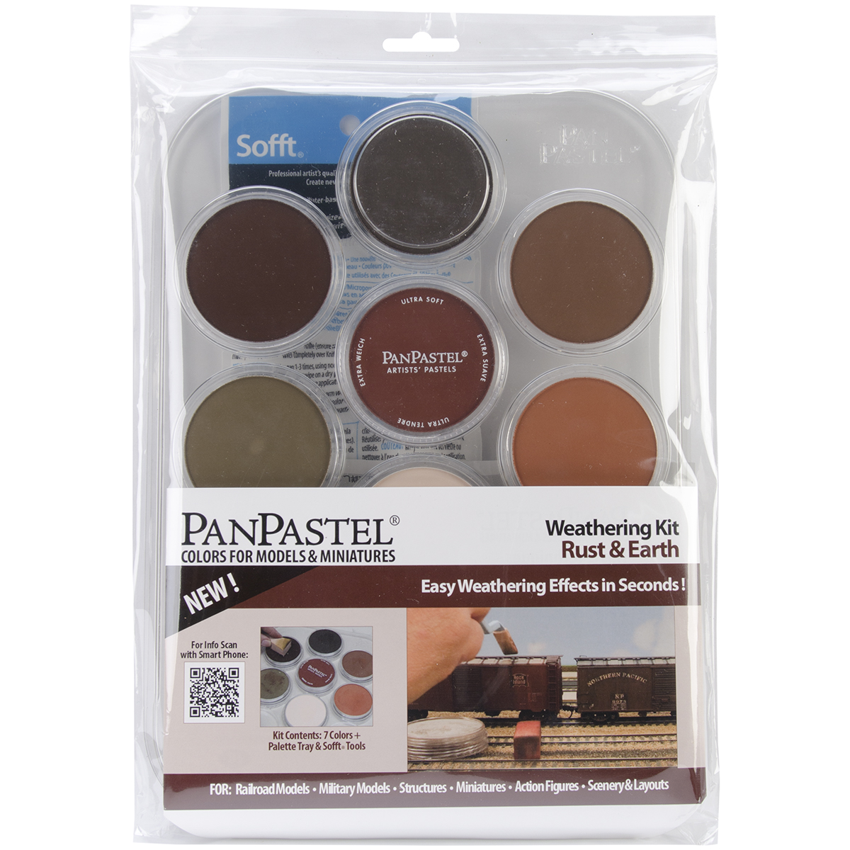 Pan Pastel Ultra Soft Artist Pastel Set Weathering Rust And Earth
