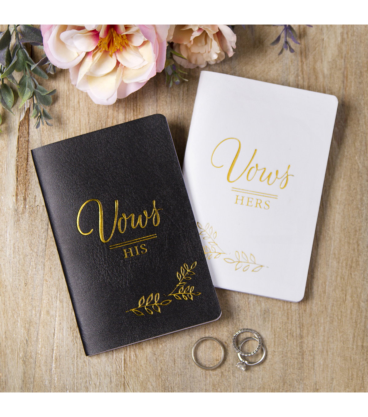 Save The Date Vow Journals-His & Hers