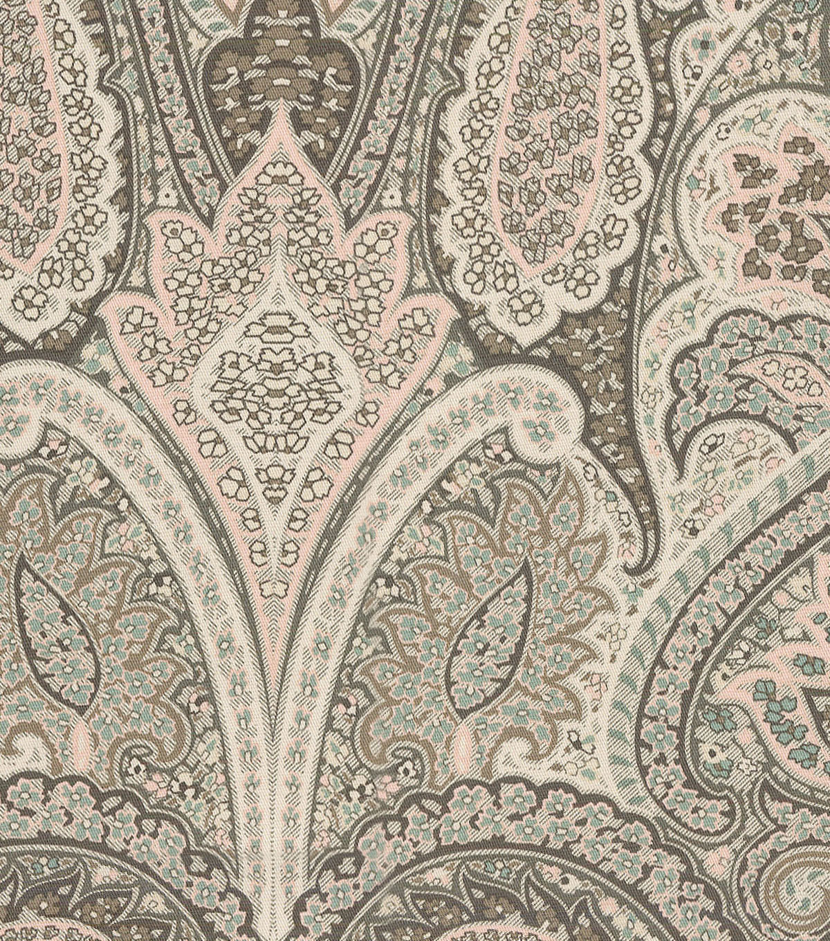 Waverly Designer Upholstery Fabric 54\u0022-Cashmire Blush