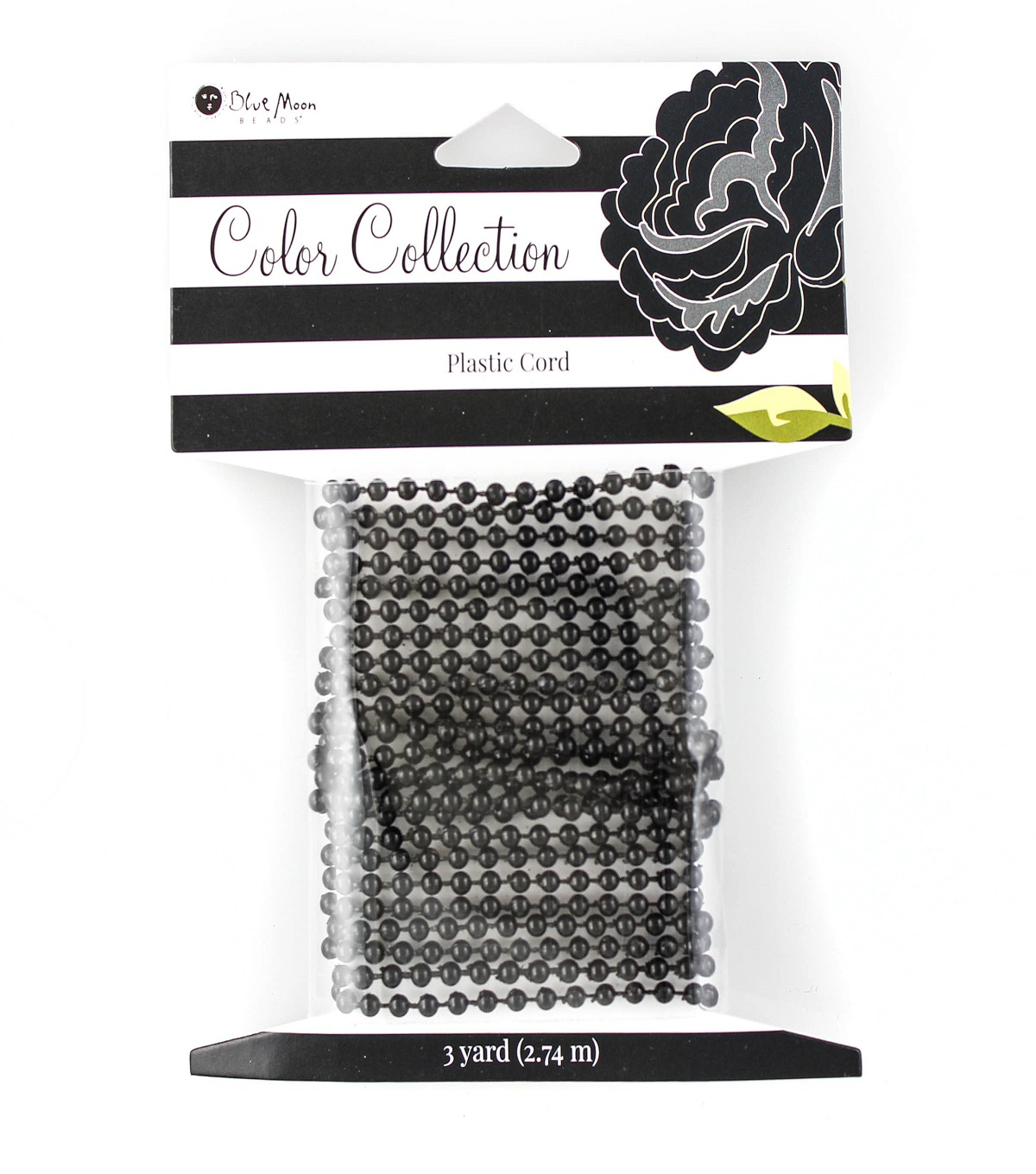 Blue Moon Beads Color Collection Cording-Black