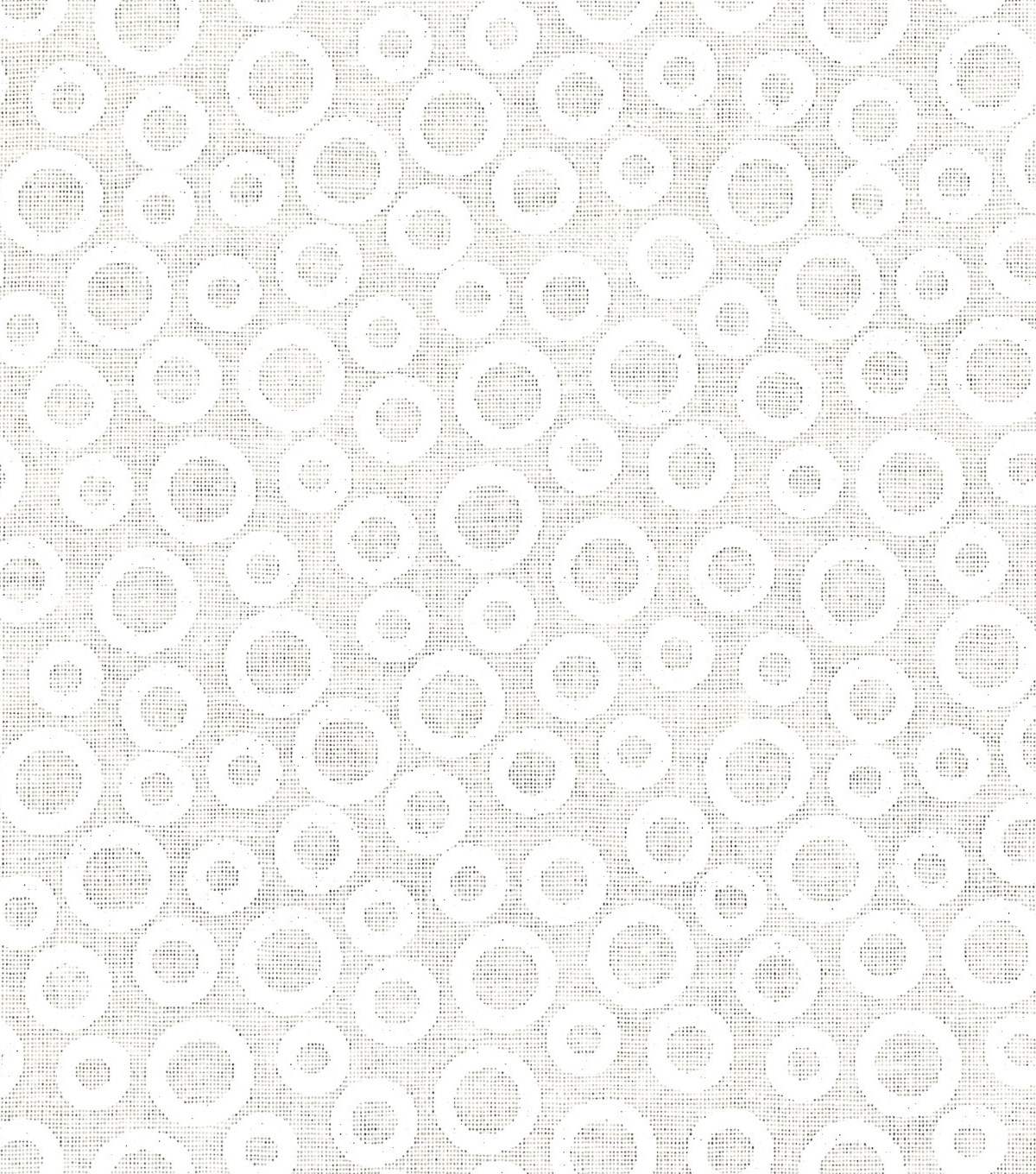 Quilter's Showcase™ Cotton Fabric 44''-White Circles