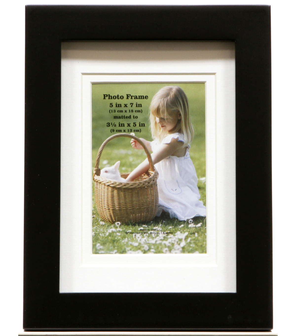Gallery Style Tabletop Frame 5X7-Black