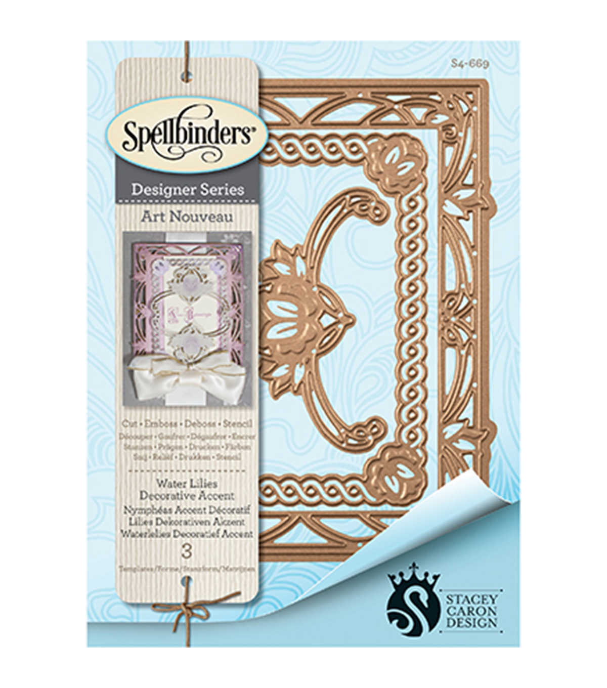 Spellbinders™ Nestabilities™ Decorative Accent Die-Water Lily