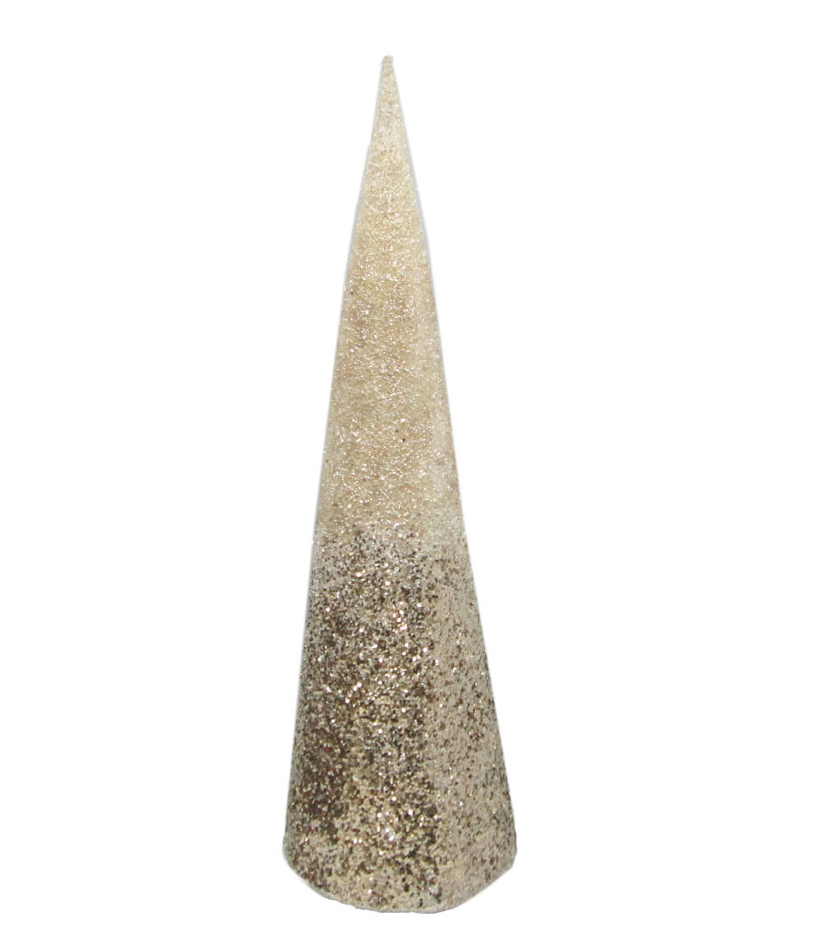 Maker\u0027s Holiday Christmas Large Cone Tree-Champagne