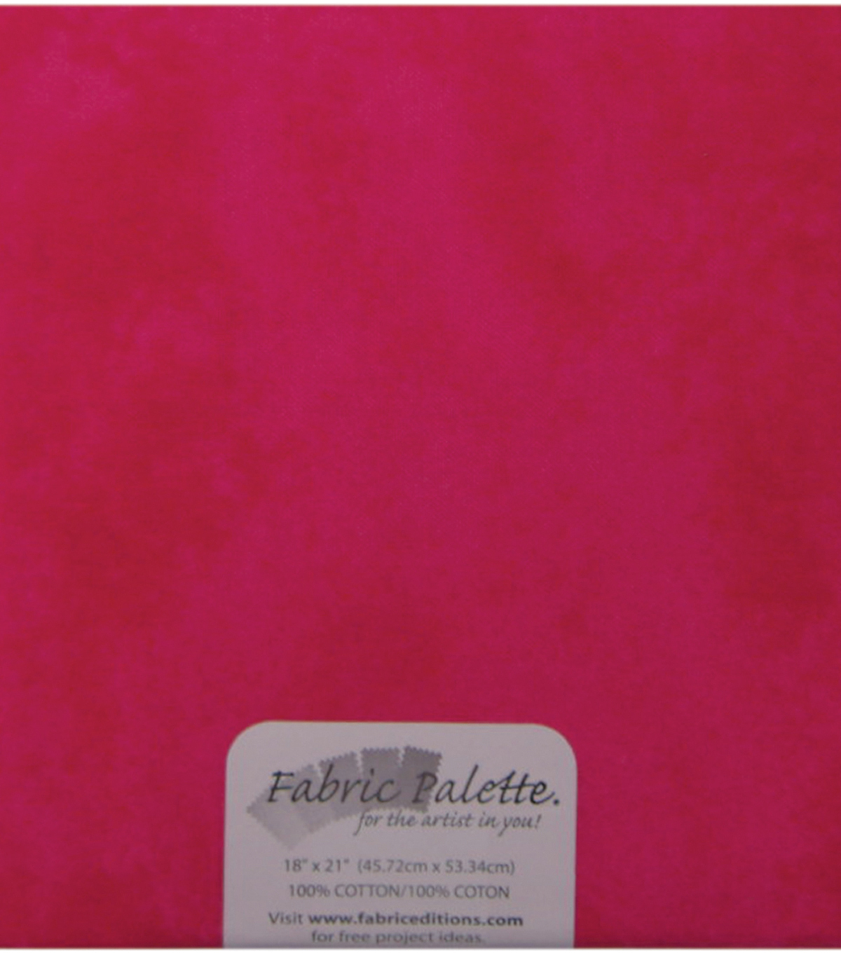 Fabric Palette 1/4yd Pre-cut Cotton Fabric-Dark Pink Texture