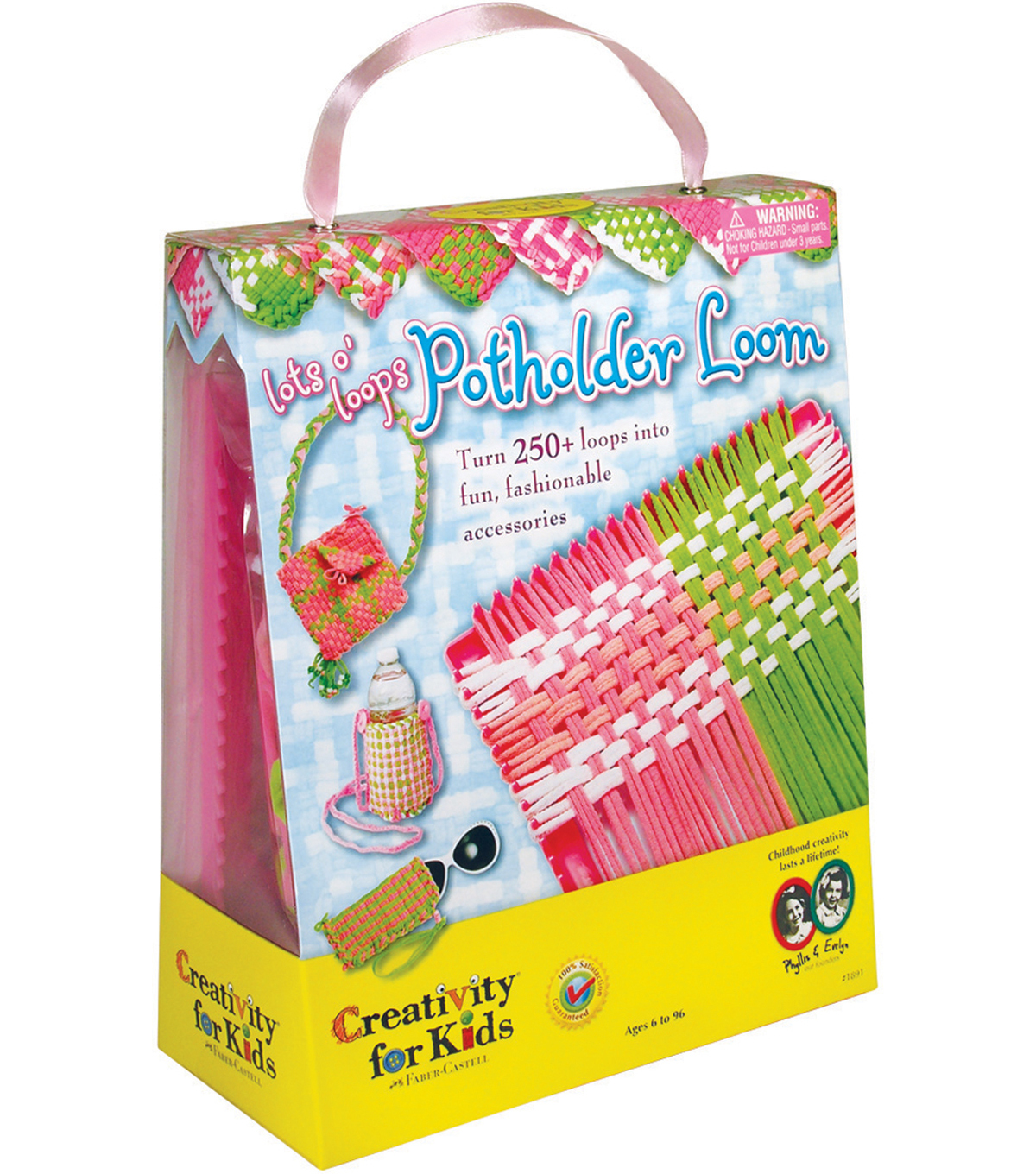Creativity For Kids Lots O\u0027 Loops Potholder Loom Kit