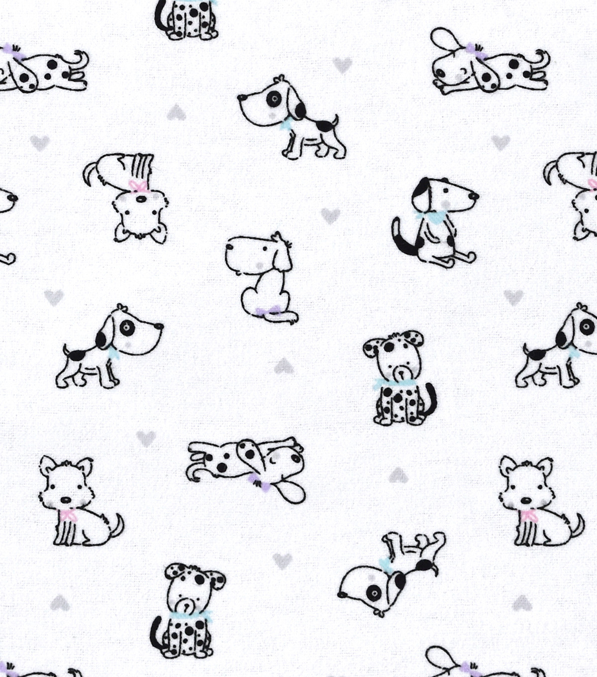 "Snuggle Flannel Print Fabric 42""-Baby Puppies"