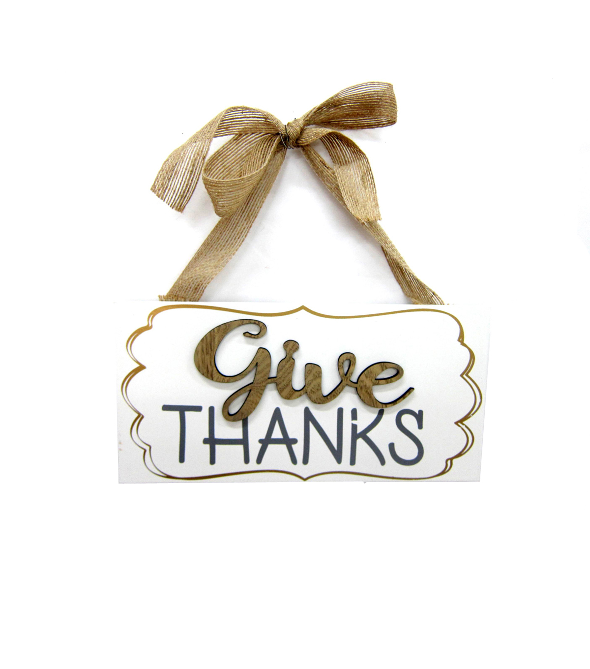 Fall Into Color Door Hanger-Give Thanks