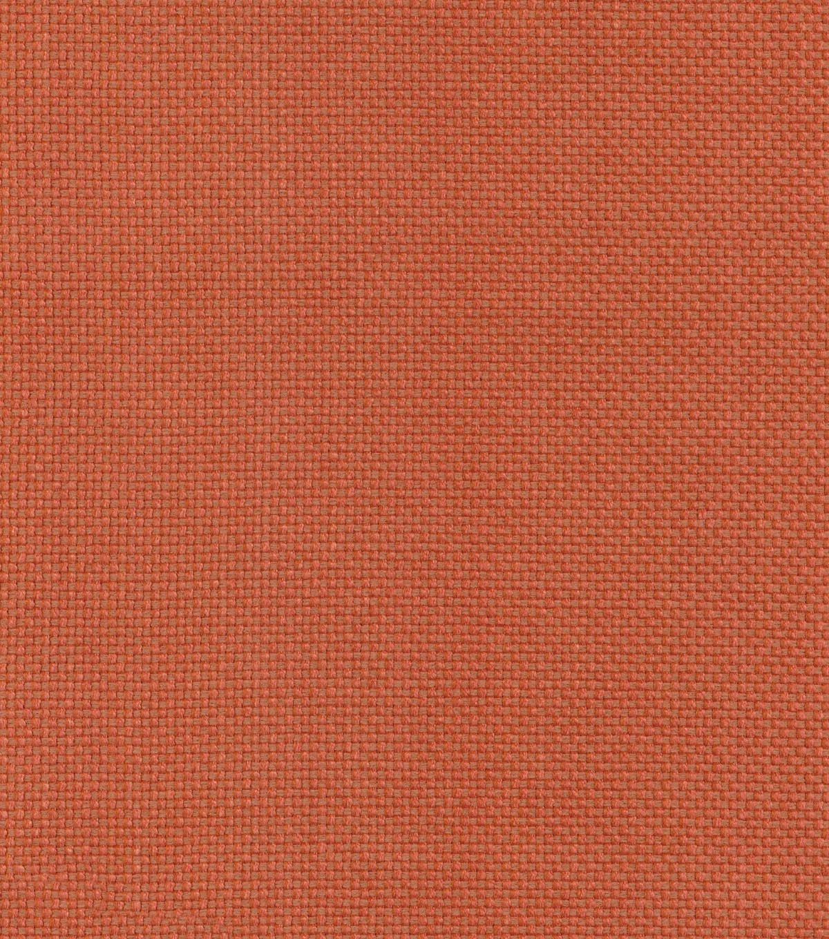 Waverly Upholstery Fabric 56\u0022-Soho Solid/Persimmon