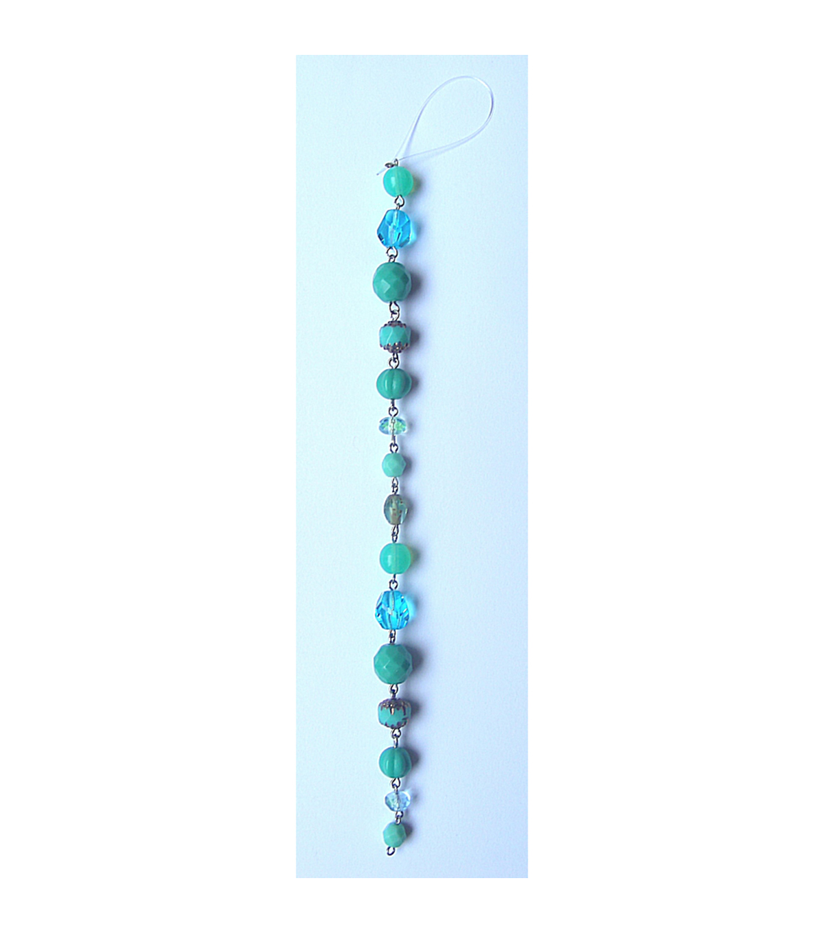 Linked Mixed Fire Polish Turquoise Color Beads