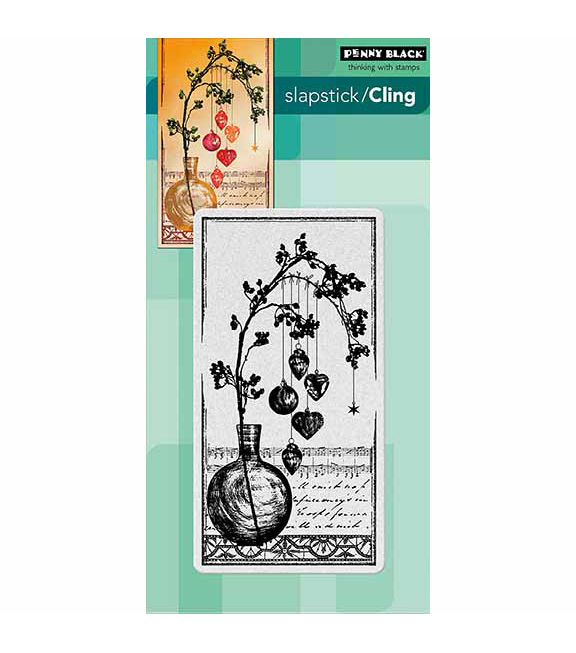 Penny Black Adorned With Love Cling Rubber Stamp